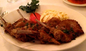 Fried Lamb Chop